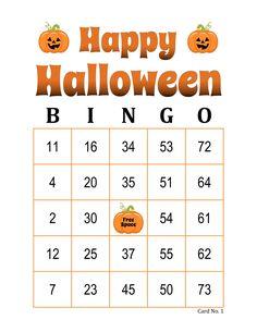 Halloween Bingo Cards, 1000 cards, 1 per page, immediate pdf download Bingo Cards To Print, Custom Bingo Cards, Bingo Card Maker, Halloween Bingo Cards, Bingo Calls, Bingo Patterns, Email Programs, I Am Game, Paper Size