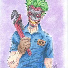 joker artwork pencil (@erikajackfrusciante)
