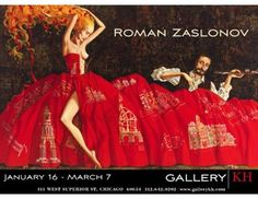 Russian Artist Roman Zaslonov to Exhibit at Gallery KH in Chicago ...