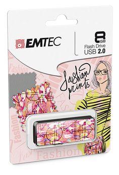 "Fashion Prints USB flash drive ""jaipur"" cardboard #EMTEC #FlashDrive #mlleeuge"
