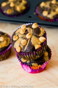Skinny PB and Chocolate cupcakes