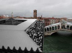 OMA . Fondaco dei Tedeschi . Venice  (1)