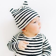 """Little Wild One"" Layette Gift Set - Stripes"