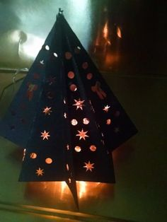 DIY 3D Christmas tree by hilemanhouse on Etsy, $4.49