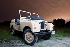 THIS I SIGN BELOW ! '58 Land Rover Series 1