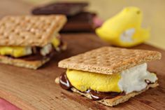 Fun Ways to Use Peeps Candies: Peeps S'mores