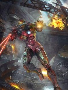 104 geniales ilustraciones de Iron Man [Megapost] - Taringa!