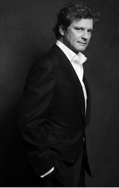 Colin Firth - gorgeous at any age.