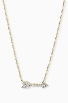 Adding this necklace to my wish list !! Diamond Arrow Pendant Necklace - Pave Adventure Necklace   Stella & Dot // Arrow accessories // arrow real diamond necklace // This is a necklace that I never have to take off. I love these necklaces have meaning behind them too. Diamonds are a girl's best friend!