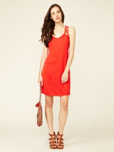 Vicky Silk Jersey Cut-Out Dress by Rebecca Minkoff on Gilt.com #giftme