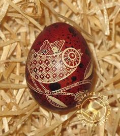 This one is pretty simple. Brown egg with one dye. Cool, though!