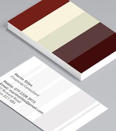 COLOURLovers Brown: Business Cards featuring designs from colour experts, COLOURLovers. With a strong natural theme of autumn shades, these are perfect for designers, makers and crafters working with natural materials and fibres. #moocards #businesscard