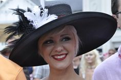 Second to the horses, it is all about big hats at the Kentucky Derby. Our hat motto: the bigger...the better! www.kentuckyderby.com