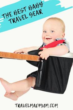 All the baby travel gear you NEED for summer vacation or your next family trip including the best toys for the airplane, pop up cots, and more! || Travel Essentials || Travel Gear for Kids || Family Travel || #travelmadmum #familytravel #travel #travelgear #babytravelgear Best Travel Stroller, Travel Cot, Baby Travel, Family Travel, Flying With A Toddler, Camping With A Baby, Traveling With Baby, Travel With Kids, Travel High Chair