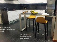 Mostrador para cocina o separador modelo Ugly, se fabrica a medida, es fuerte, resistente y muy elegante y decorativo, mas info en www.tusmesasysillas.com