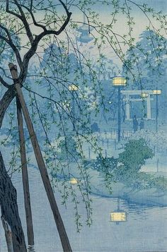 Evening Haze, 1932 Shiro Kasamatsu