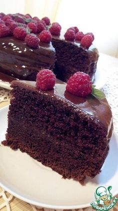 Recipes with photos of delicious cakes. Classy Chocolate Cake breakfast afternoon snack guests Day To Make batter classic Delicious Cake Recipes, Yummy Cakes, Chocolate Desserts, Chocolate Cake, Wine Recipes, Gourmet Recipes, Bistro Food, Easy Cake Decorating, Russian Cakes