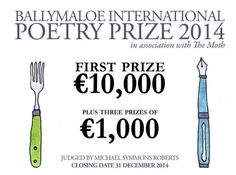 Ballymaloe International Poetry Prize 2014