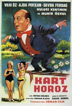 kart horoz / 1965 Caricature, Ocean Pictures, Film Books, Historical Pictures, Classic Films, Film Posters, Pulp Fiction, Cabaret, Film Movie