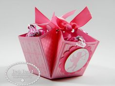 Valentine's Day boxes.  Video tutorial and directions for 3 different sizes.  So cute.