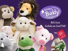 A snuggle buddy for the kids with your favorite scent.. ages 3 and up