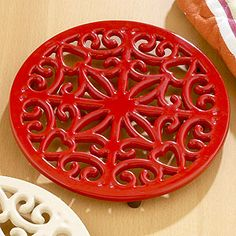 I got a few of these at World Market in a few different colors at Christmas time. There was a one day 50% sale on all iron.