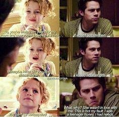 Image discovered by jughead. Find images and videos about kiss, teen wolf and stiles stilinski on We Heart It - the app to get lost in what you love. Teen Wolf Quotes, Teen Wolf Funny, Teen Wolf Memes, Tv Quotes, Dylan O'brien, Teen Wolf Dylan, Teen Wolf Cast, Lydia Martin, Teen Wolf Stydia