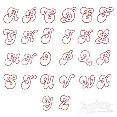 Applique Disco Embroidery Font Set Includes: Appliqué Fonts 4, 6 & 7 Inch Alphabet Set.  Wider stitch for easy cutting! Just under 1/4 inch on the six inch set.