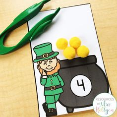 Celebrate St. Patrick's Day with your preschoole, kindergarten, or homeschool students with these 10 St. Patrick's Day fine motor skills activities. The activities can be used multiple ways, but they help develop fine motor skills of prek or kinder students. These low-prep activities may require some prep work like laminating, and they are perfect for small groups, morning tubs, centers, or any time you want your students to practice their skills this spring. #StPatricksDay #FineMotor