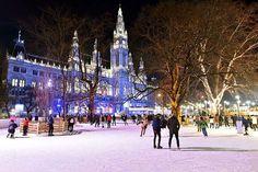 Vienne : Patinez dans un décor de rêve