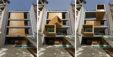 The Sharifi-ha House, designed by nextoffice, is nothing short of magnificent and you're about to see why! Unlike almost every single house out there, this one has the ability to be open or closed off, introverted or extroverted. Depending on the seasons or the homeowners' needs, rotating volumes can be turned to change up the interior and the exterior.