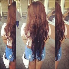 OMG I want my hair this long :))