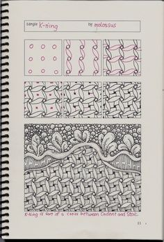 zentangle tutorial - Google Search