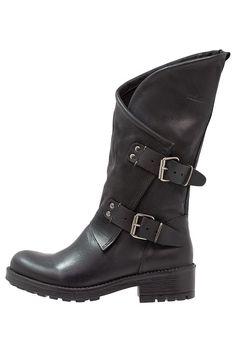 Schoenen Coolway ALIDA - Cowboy-/Bikerlaarzen - black Zwart: € 99,95 Bij Zalando (op 13-11-17). Gratis bezorging & retour, snelle levering en veilig betalen!