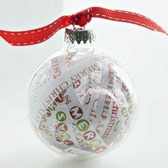 ornament paper strips