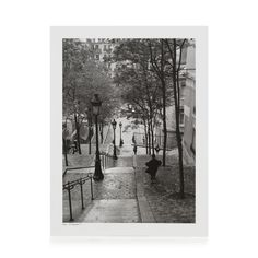 Affiche sous film - Escaliers à Montmartre - Les affiches décoratives - Affiches et déco murale - Toute la déco - Décoration d'intérieur - Alinéa