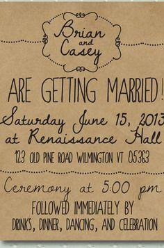 8 Unique Handmade Wedding Invitations from Etsy: Lauren M. #Stylish365