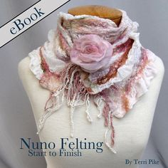 Nuno felting is the hottest fiber art around. This gratifying and free form process will transform layers of fabric and wool into a piece of wearable art you'll be proud to show off. Nuno felting does not involve sewing, weaving, or knitting, but is made by layering wool and other