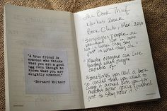 How I keep track of books.  Part I: The Book Journal.  I love this!