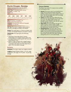 Dungeons & Dragons — Elite Guards.