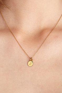 Mini Monogram Necklace