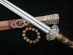 Chinese Qin Jian war sword pattern-welded steel production blade wood scabbard longquan sword http://www.amazon.com/dp/B00L2E71AK/ref=cm_sw_r_pi_dp_dzfOtb1TATAC8V3P