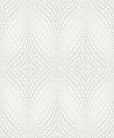 Luxor Dove White wallpaper by Albany