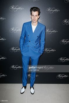 Mark Ronson attends 'Redemption' Dinner at Place Vendome as part of the Paris Fashion Week...