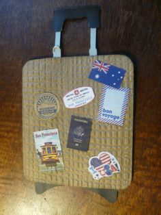 travel card, cut with silhouette, sizzix ef burlap, free clip art