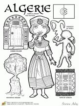 World Travel Pictures Bucket Lists Vacations Travel Drawing Cities Referral: 2684310202 Paper Doll Costume, Paper Dolls, Middle School History, African Art Paintings, Teaching Geography, Kids Around The World, World Crafts, Thinking Day, Coloring Book Pages