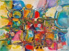 "Valentina Richter; Acrylic Painting ""Adventure of Life"""