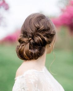 Wedding hairstyles for long hair - take a look at our top 3 bridal looks for long hair this year,Wedding hairstyles for long hair : Intricate braided updos Bridal Updo, Bridal Hairstyle, Hairstyle Ideas, Wedding Hairstyles For Long Hair, Bridesmaid Hairstyles, Twisted Updo, Bridal Looks, Hair Dos, Short Hair Styles
