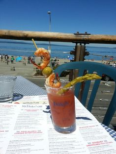 Duke's Chowder House in Seattle, WA #alki #waterfront #patio