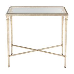 "Heron End Table - Ethan Allen  Dimension:22""w x 25.25 h x 28""d"